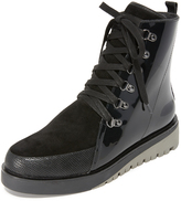 United Nude Hiker Combat Boots
