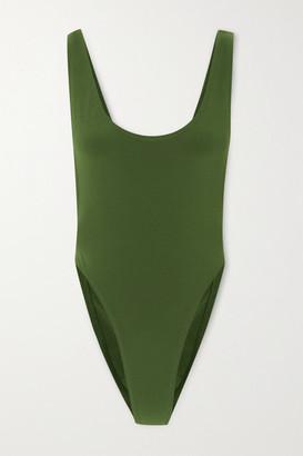 Norma Kamali Marissa Swimsuit - Forest green