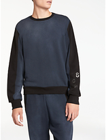 Diesel S-Acrom Sweatshirt, Blue/Black