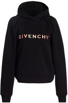 Givenchy Cropped Logo Hoodie
