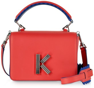 Kenzo Red Leather K-bag