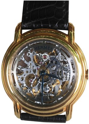 Hermes Gold Yellow gold Watches