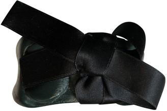 Marni Green Leather Bracelets