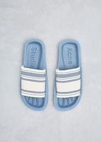 Acne Studios beige blue / navy tania elastic