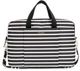 Kate Spade 'Classic Nylon Stripe' Laptop Bag - Black