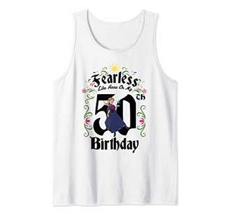 Disney Frozen Anna Fearless On My 50th Birthday Tank Top