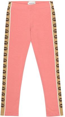Gucci Kids Cotton trackpants