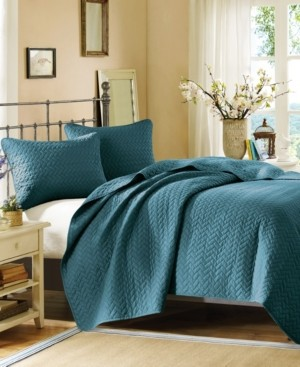 JLA Home Hampton Hill Velvet Touch Queen 3 Piece Coverlet Set