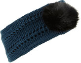 Fur Pom Headband