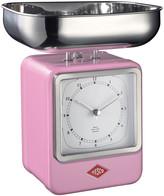 Wesco Retro Scale with Clock - Pink