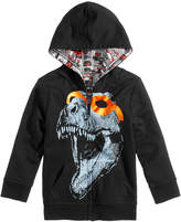 Epic Threads Reversible Dino-Print Hooded Jacket, Toddler Boys, Created for Macy's