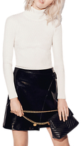 Karen Millen Patent Collection Skirt, Black