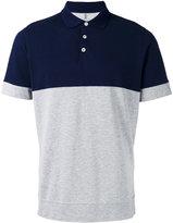 Brunello Cucinelli contrast polo shirt - men - Cotton - S