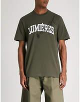 Oamc Lumières cotton-jersey T-shirt