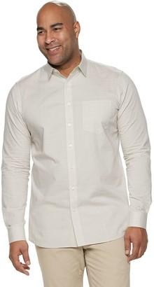 Apt. 9 Big & Tall Regular-Fit HEIQ Performance Button-Down Shirt