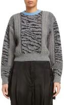 Toga Women's Tiger Jacquard Knit Sweater