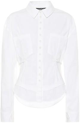 Jacquemus La Chemise Cueillette cotton shirt