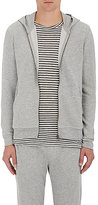 ATM Anthony Thomas Melillo Men's Cotton-Blend Zip-Front Hoodie-GREY