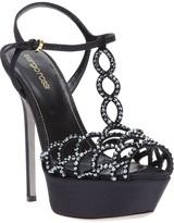 Sergio Rossi embellished platform sandal