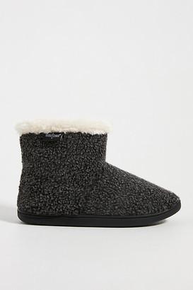 Minnetonka Betty Slipper Boots By in Grey Size S