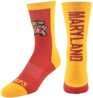 Men's Mojo Maryland Terrapins Loud & Proud Crew Socks