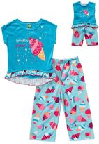 Dollie & Me Girls 4-14 Ice Cream Pajama Set