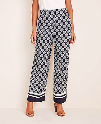 Ann Taylor The Petite Wide Leg Pant