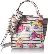 Betsey Johnson Petal to the Metal Tote