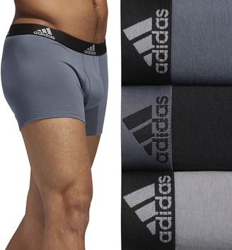 adidas Men's 3-pack Stretch Trunks