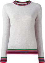 Chinti and Parker striped cuff jumper - women - Cashmere - XS