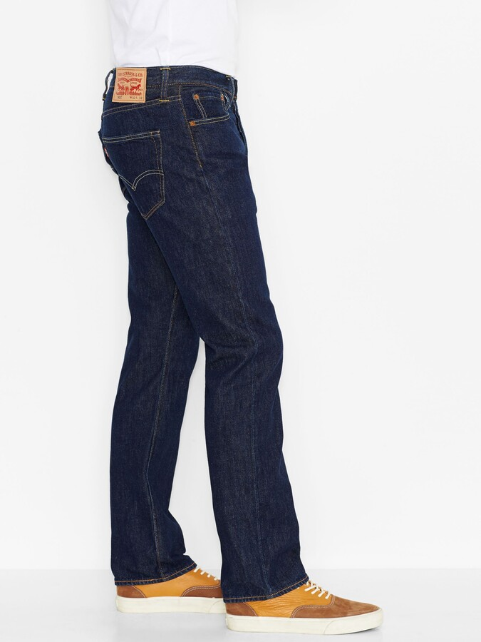 Thumbnail for your product : Levi's 501 Original Straight Jeans, One Wash