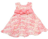 Rare Editions Infant Ombre Soutache Dress & Panty Set