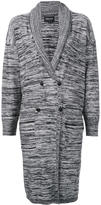 Obey double breasted cardigan - women - Acrylic/Wool - XS