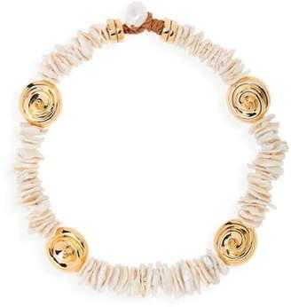 Lizzie Fortunato Aphrodite Collar Necklace