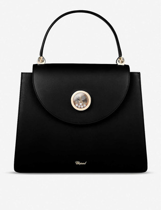 Chopard Happy Lady leather shoulder bag