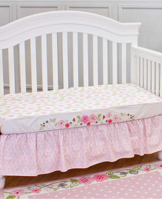 3 Stories Trading Nurture Garden District Decorator Crib Sheet