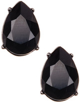 Marchesa Faceted Pear Stud Earrings