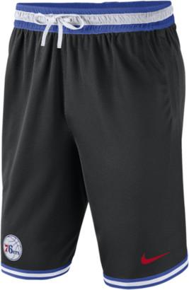 Nike NBA DNA Mesh Shorts - Philadelphia 76ers - Black / Rush Blue White