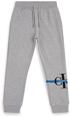 Calvin Klein Kids Logo Embroidered Sweatpants (4-16 Years)