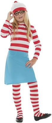Where's Wally Wenda - Child's Costume