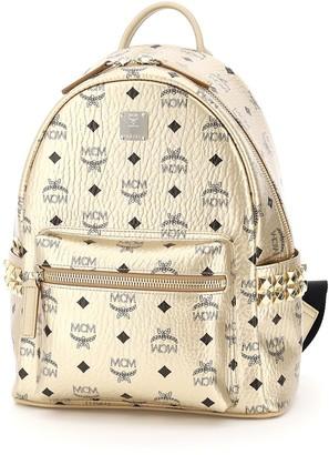 MCM Stud Embellished Backpack