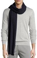 Loro Piana Donegal Tweed Cashmere-Silk Scarf