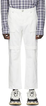 Juun.J White Pocket Jeans