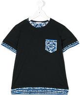 Dolce & Gabbana Majolica print pocket T-shirt