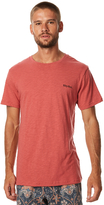 rhythm Flag Mens T Shirt Red