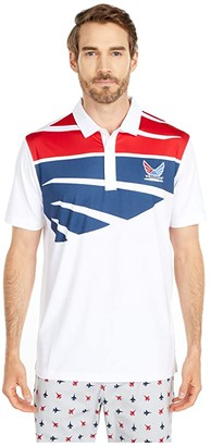 Puma Volition(r) Flight Polo (Barbados Cherry) Men's Clothing