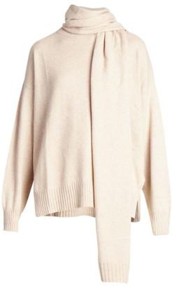 LOULOU STUDIO Spano Scarves Cashmere Sweater