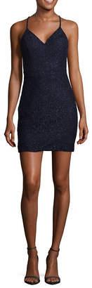 City Triangle-Juniors Sleeveless Bodycon Dress