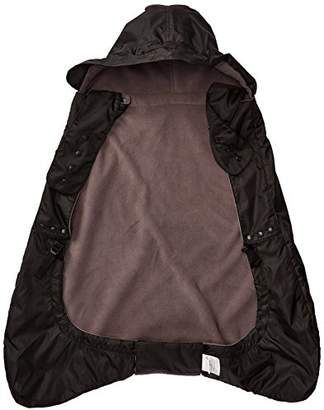 ERGObaby Winter Weather and Rain Cover for Baby Carrier, Isolated Rain Cover with Fleece Lining, Waterproof, black