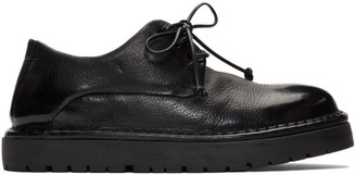 Marsèll Black Gomme Pallottola Derby Oxfords